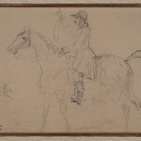 Henri de Toulouse-Lautrec Cavalier 1879