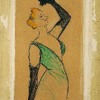 Henri de Toulouse-Lautrec Yvette Guilbert 1893