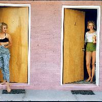 USA. Las Vegas, Nevada.  1957. Showgirls