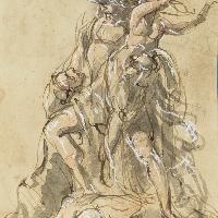 Pio Fedi (Viterbo, 1815 - Firenze, 1892) Studio per il Ratto di Polissena 1866 circa