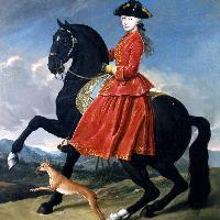 Giacomo Ceruti, Ritratto di nobildonna a cavallo