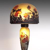 Muller Frères Lampe aux coquelicots, 1900 ca. © Arwas Archives