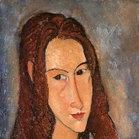 Jeune fille rousse (Jeanne Hébuterne), 1918
