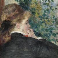 Pierre-Auguste Renoir (1841–1919). Pensierosa