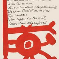 Pablo Picasso, Piere Reverdy, Le Chant des Morts. Poemes