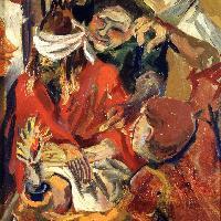 R. Guttuso Cristo deriso