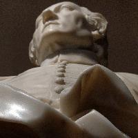 Giovanni Antonio Cybei, busto in marmo di Ludovico Antonio Muratori