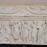 Le Muse nei sarcofagi del Forte Sangallo