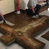 Croce dipinta del Carmine di Ambrogio Lorenzetti