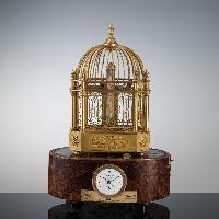 Orologio da mensola in forma di gabbietta 1820 – 1835 c.