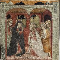 secolo XV, Commiato di Gesù dalla Madre