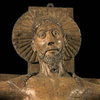 Piacenza, San Savino, Crocifisso ligneo, secolo XII inizi