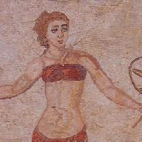 Piazza Armerina: Mosaico delle Villa Romana - A.A.P.I.T. ENNA