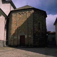 Oggioni, Battistero Romanico (foto Archivio Provincia di Lecco)