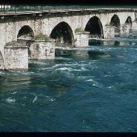 Lecco, Ponte Azzone Visconti (foto Archivio Provincia di Lecco)