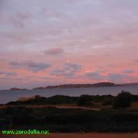 Tramonto su Spargi - Arcipelago Maddalena